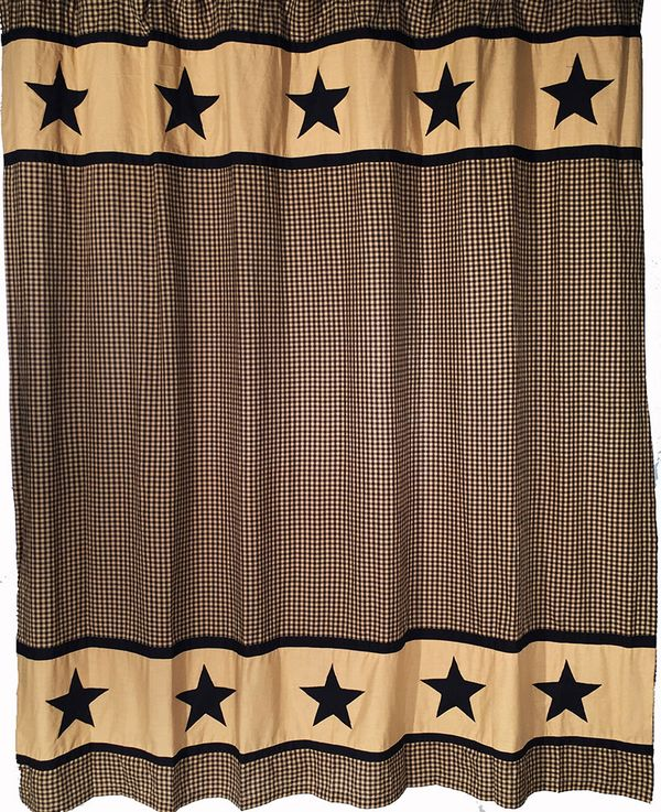 OH-104SCB5BLblack-plaid-shower-curtainL
