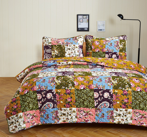 Antique-Bloom-floral-quilt