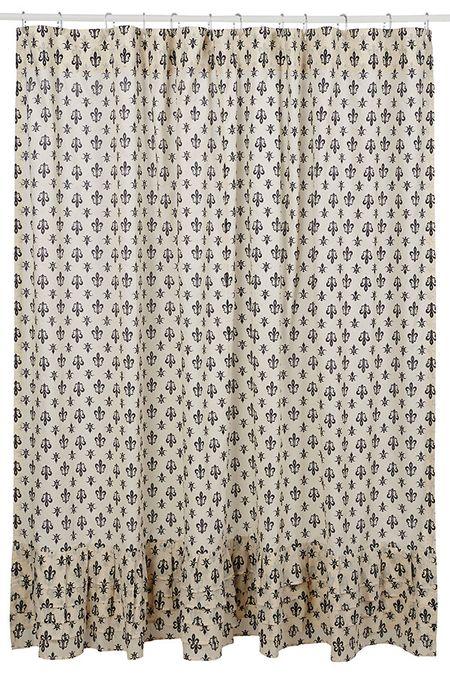 Farmhouse Shower Curtain Images