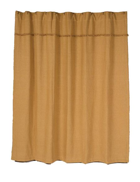 Burlap Natural_Shower-Curtain
