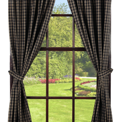 IHF-314 DR-plaid-curtains